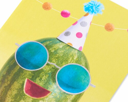 American Greetings #65 Birthday Card (One in a Melon) Perspective: back