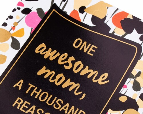 American Greetings #23 Birthday Card for Mom (Grateful) Perspective: back