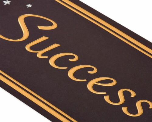 American Greetings #63 Graduation Gift Card Holder (Success) Perspective: back
