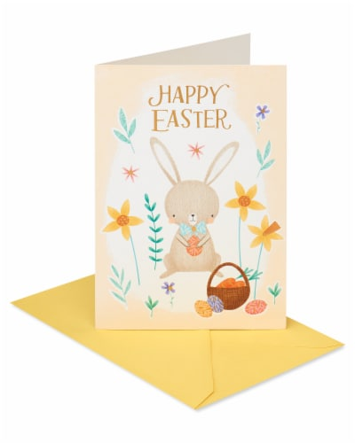 American Greetings #54 Easter Cards (Easter Bunny) Perspective: back