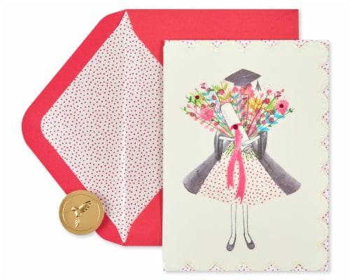 Papyrus Graduation Card (Wonderful You) Perspective: back