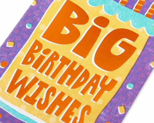 Amercan Greetings #59 Birthday Card (Sweet Birthday Wishes) Perspective: back