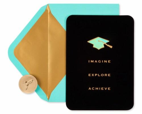 Papyrus #54 Graduation Card (Achieve) Perspective: back