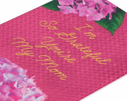 American Greetings #60 Mother's Day Card (Grateful) Perspective: back