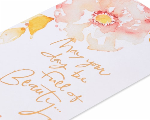 American Greetings #65 Mother's Day Card (Beauty) Perspective: back