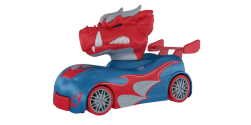 RC Knuckle-Headz - Dragon Perspective: back