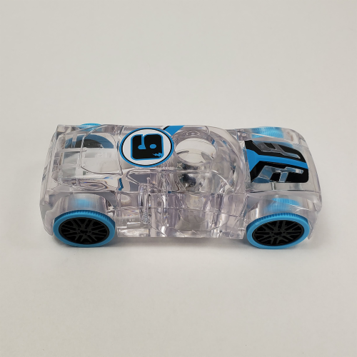 Pull-Back Marble Racer - Blue Perspective: back