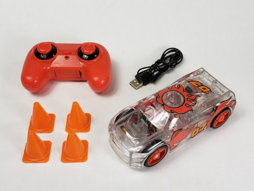 Remote Control Marble Racer - Red Perspective: back