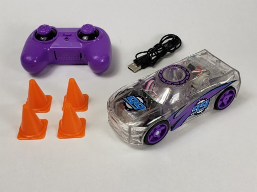 Remote Control Marble Racer - Purple Perspective: back