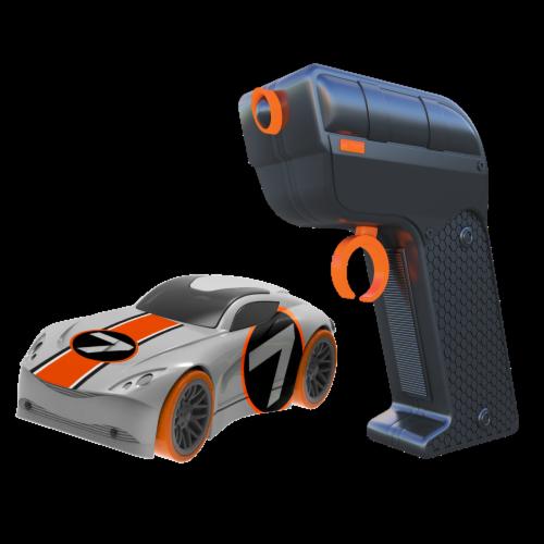 Tracer Racers RC - Orange Car Perspective: back