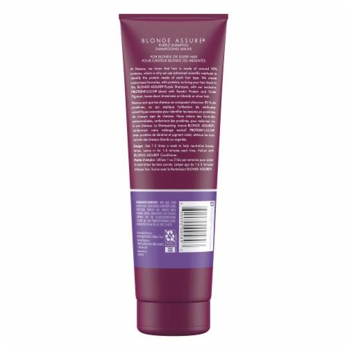 Nexxus Blonde Assure Color Toning Purple Shampoo Perspective: back