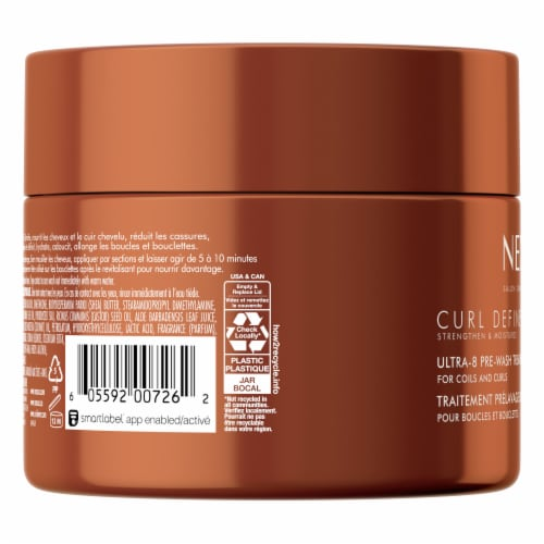 Nexxus Curl Define Ultra-8 Pre-Wash Hair Mask Treatment Perspective: back