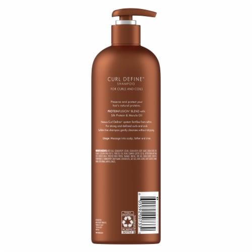 Nexxus Curl Define Shampoo Perspective: back
