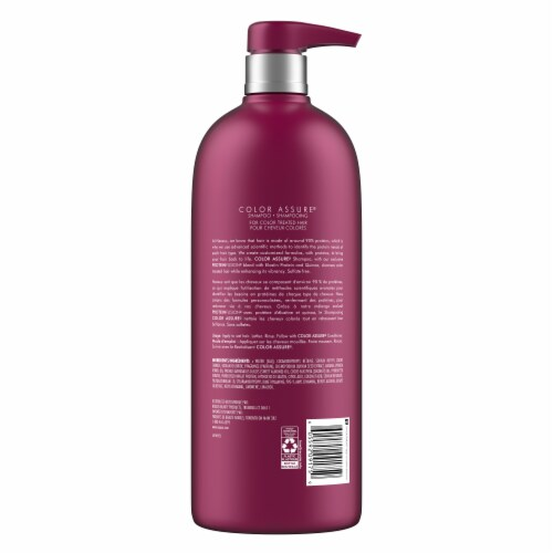 Nexxus Color Assure Shampoo Sulfate Free Perspective: back
