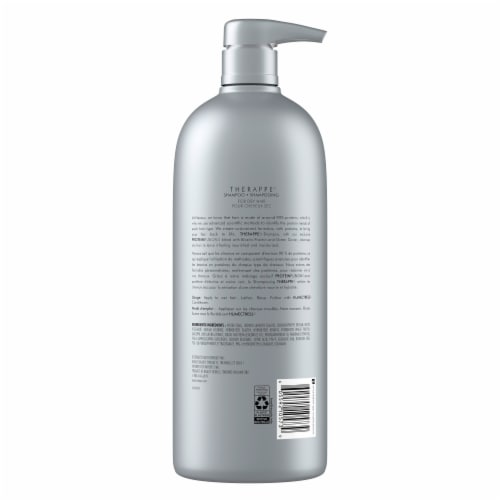 Nexxus® Silicone-Free Therappe Ultimate Moisture ProteinFusion Shampoo for Dry Hair Perspective: back