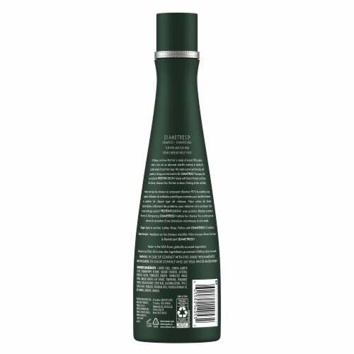 Nexxus Diametress Volumizing Green Tea Shampoo Perspective: back