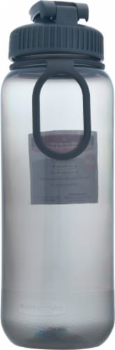 Rubbermaid® Essentials Cool Gray Chug Water Bottle Perspective: back