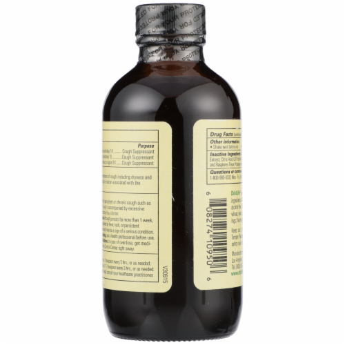ChildLife Formula 3 Natural Berry Flavor Cough Syrup Perspective: back