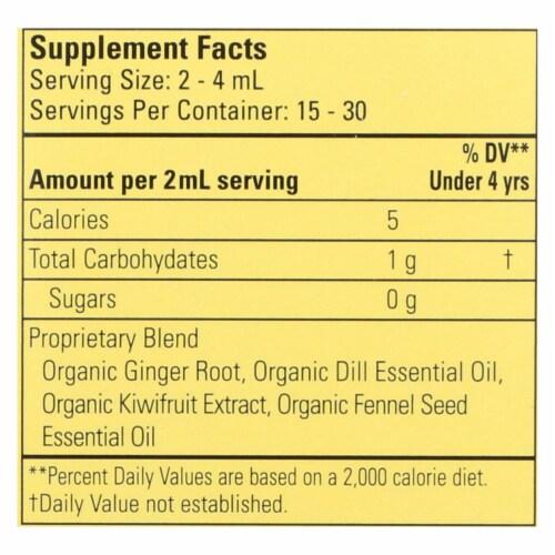 Childlife Essentials Organic Gripe Water Dietary Supplement  - 1 Each - 2 FZ Perspective: back