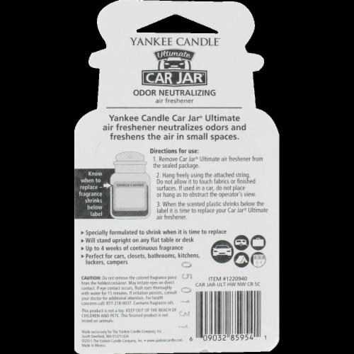 Kroger - Yankee Candle Car Jar Ultimate New Car Scent Air Freshener