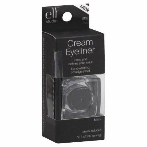 e.l.f. Studio Black Cream Eyeliner & Brush Perspective: back