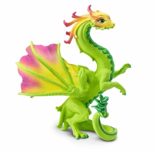 Flower Dragon Toy Perspective: back