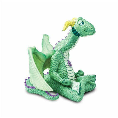 Safari 10153 Peace Dragon Figurine, Multi Color Perspective: back