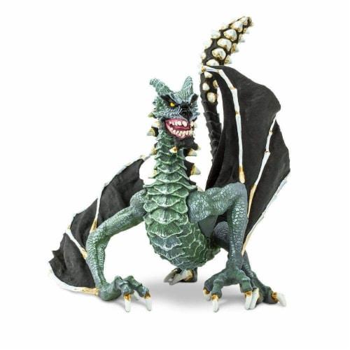 Safari 10166 Sinister Dragon Figurine, Multi Color Perspective: back