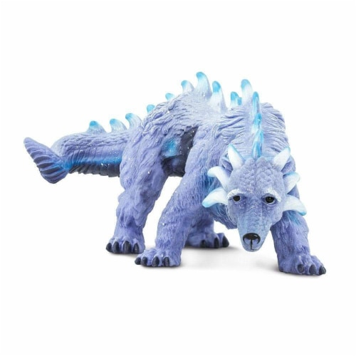 Arctic Dragon Toy Perspective: back