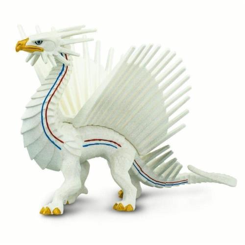 Safari 100252 Freedom Dragon Figurine, Multi Color Perspective: back