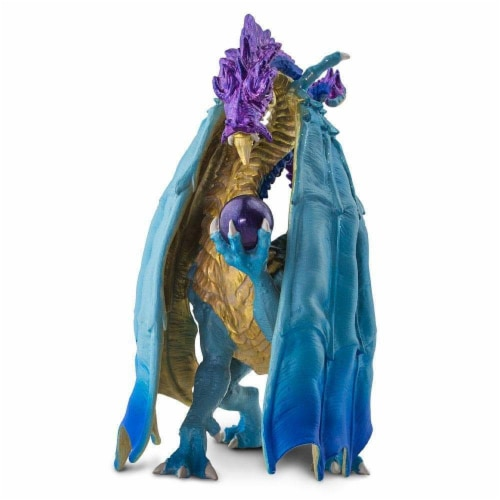 Wizard Dragon Toy Perspective: back