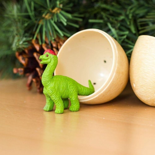 Dino Baby Eggs Set Toy Perspective: back