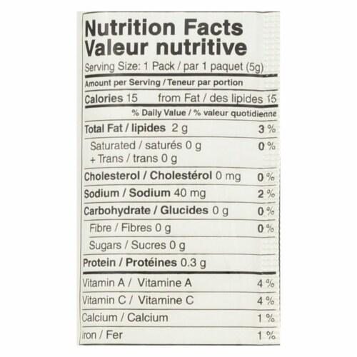 SeaSnax Premium Roasted Seaweed Snacks - Wasabi - Case of 24 - 0.18 oz. Perspective: back