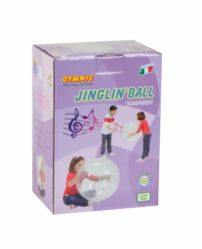 Gymnic Jinglin' Ball - Clear Perspective: back