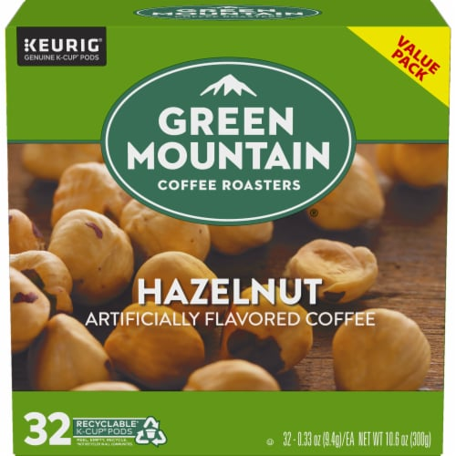 Green Mountain Coffee Roasters Hazelnut Coffee K-Cup Pods Perspective: back
