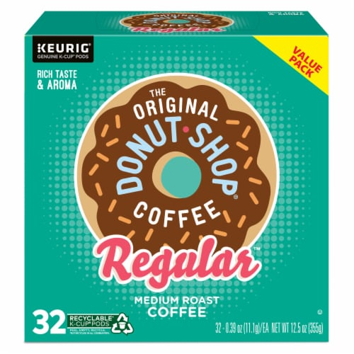 The Original Donut Shop Coffee Regular K-Cups Medium Roast Perspective: back