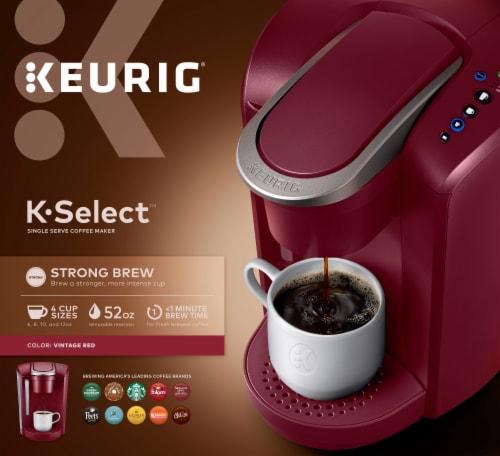 Keurig® K-Select Single Serve Coffee Maker - Vintage Red Perspective: back