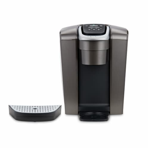 Keurig® K-Elite™ Single-Serve K-Cup® Pod Coffee Maker - Brushed Slate Perspective: back