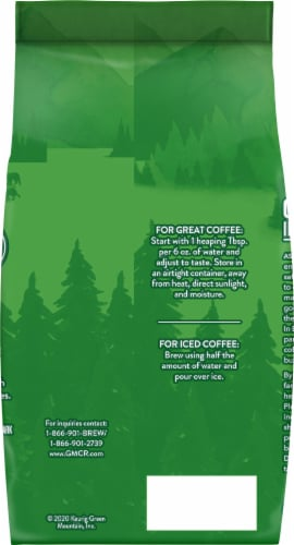 Green Mountain Dark Magic Dark Roast Ground Coffee Perspective: back