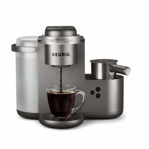 Keurig® K-Café Single Serve Coffee Latte and Cappuccino Maker - Nickel Perspective: back