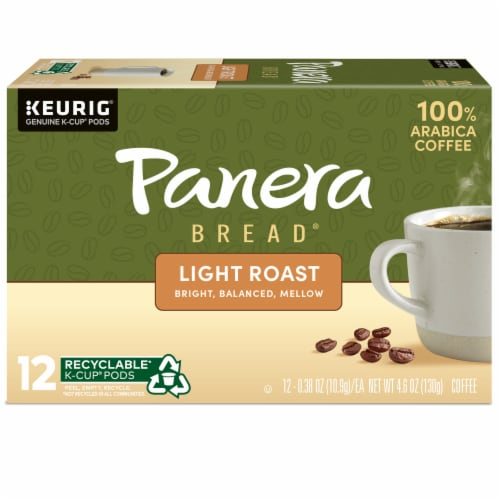 Panera Bread at Home Light Roast Coffee K-Cup Pods Perspective: back
