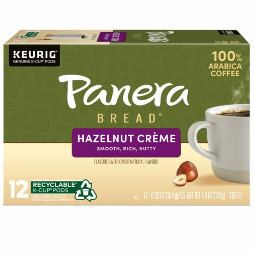 Panera Bread® at Home Hazelnut Creme Coffee K-Cup Pods Perspective: back