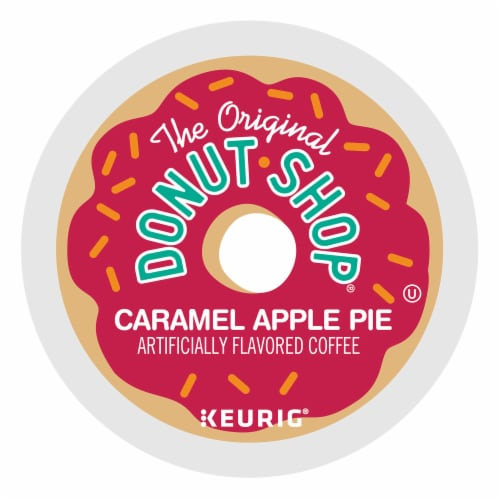 The Original Donut Shop® Caramel Apple Pie Coffee K-Cup Pods Perspective: back