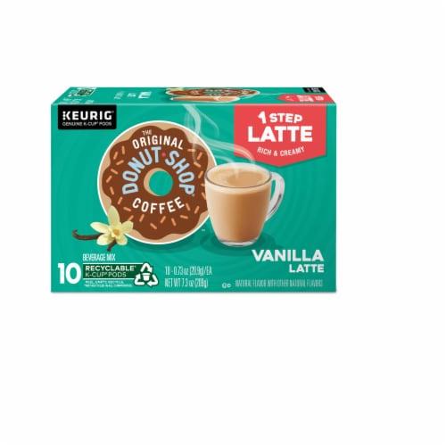 The Original Donut Shop Vanilla Latte K-Cup Pods Perspective: back