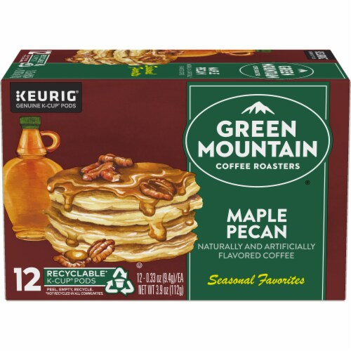 Green Mountain Coffee Limited Edition Maple Pecan Coffee K-Cup Pods Perspective: back