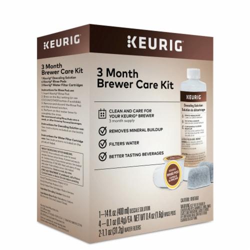 Keurig® 3-Month Brewer Maintenance Kit Perspective: back