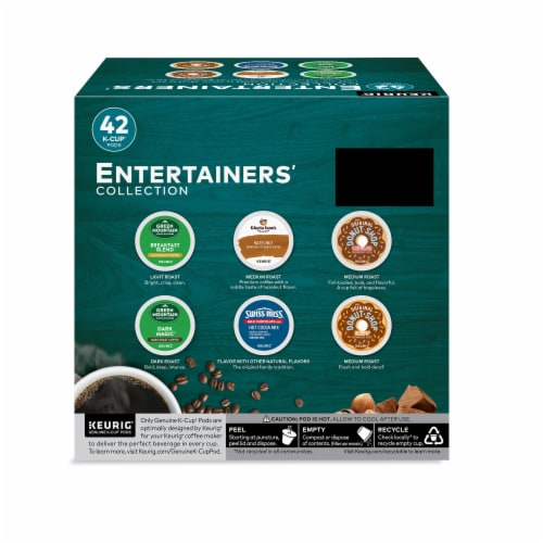 Keurig® Entertainers' Collection K-Cup Pods Variety Pack Perspective: back