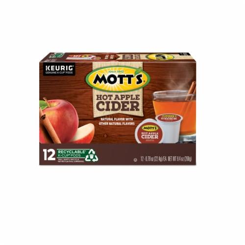 Mott's Hot Apple Cider K-Cup Pods Perspective: back