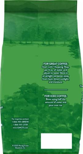 Green Mountain Coffee Half Caff Medium Roast Ground Coffee Perspective: back