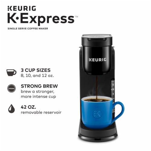 Keurig K-Express Single Serve K-Cup Pod Coffee Maker - Black Perspective: back